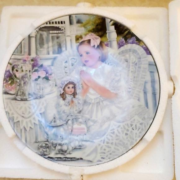 VTG. THE BRADFORD EXCHANGE * porcelain plate